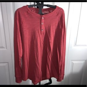 Express: Red Long Sleeve Top (L)